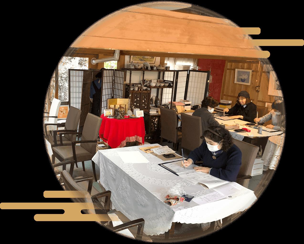 唐津「テイーサロン芦の花」教室の写真