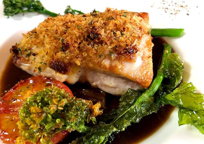 魚料理の写真
